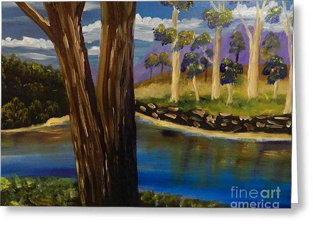 Pamela Meredith Greeting Cards - Summer in the Snowy River Region Greeting Card by Pamela  Meredith