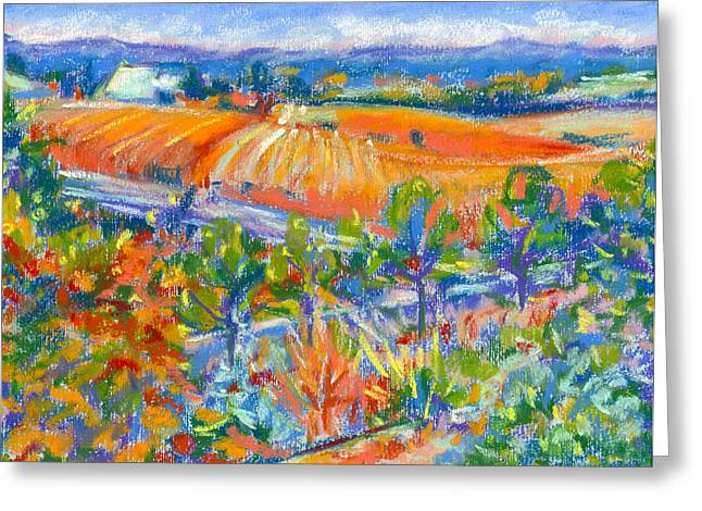 Pacific Northwest Pastels Greeting Cards - Summer Inspirations III Greeting Card by Tanya Filichkin