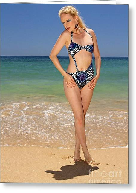 Swimsuit Photo Greeting Cards - Summer  Greeting Card by Mariusz Czajkowski