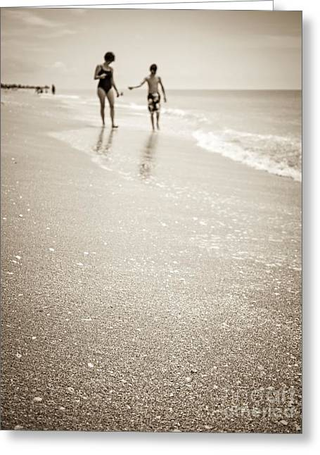 Old Film Greeting Cards - Summer Memories Greeting Card by Edward Fielding