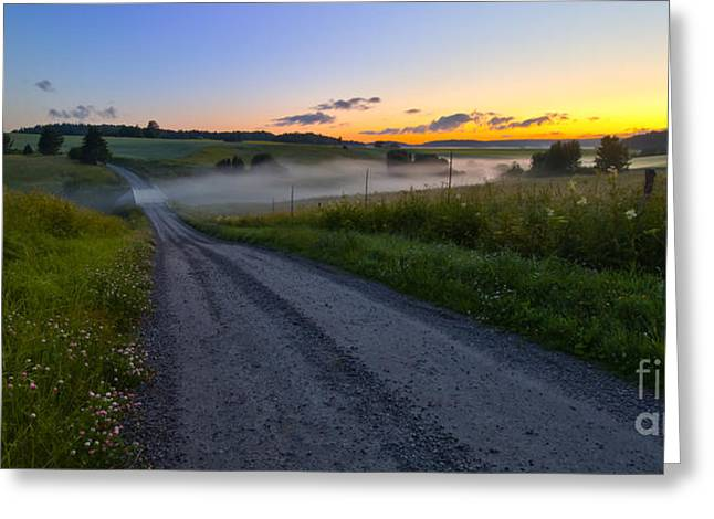 Artist Photographs Greeting Cards - Summer morning at 3.31 Greeting Card by Veikko Suikkanen