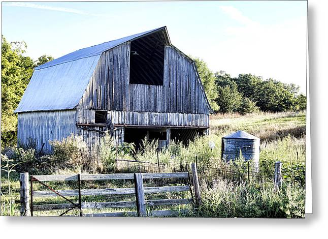 Hayloft Greeting Cards - Summer Morning Greeting Card by Cricket Hackmann