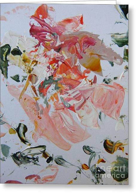 Merging Paintings Greeting Cards - Summer Greeting Card by Nancy Kane Chapman