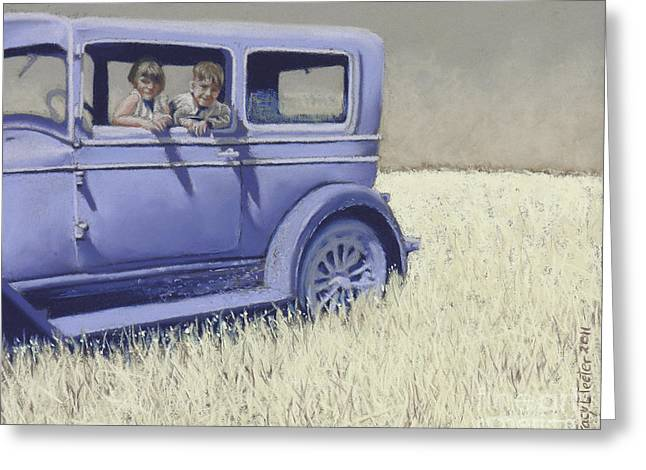 Summer of '29 Greeting Card by Tracy L Teeter