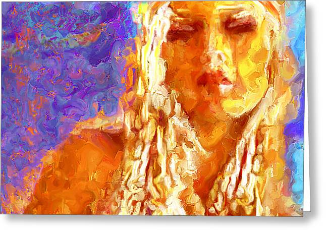 J.p. Digital Art Greeting Cards - Summer of Love ---- S F   67   Greeting Card by Lee Haxton