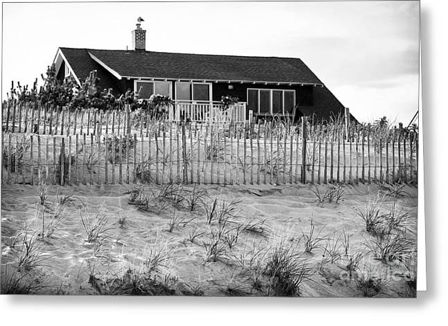 Old School House Greeting Cards - Summer on Long Beach Island Greeting Card by John Rizzuto
