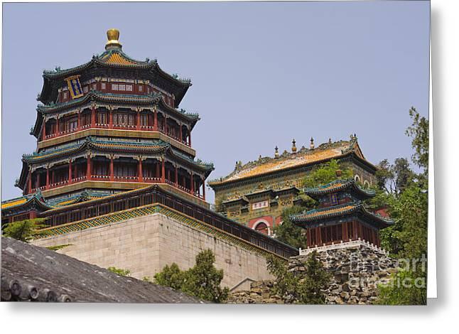Summer Palace Greeting Cards - Summer Palace, Beijing Greeting Card by John Shaw