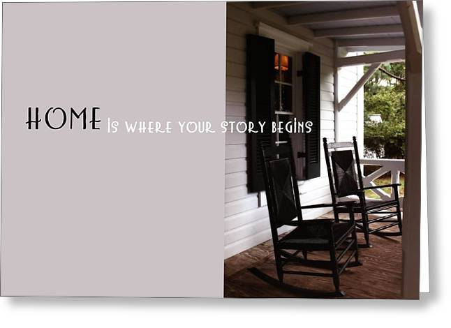 Screen Doors Greeting Cards - SUMMER PEACE quote Greeting Card by JAMART Photography