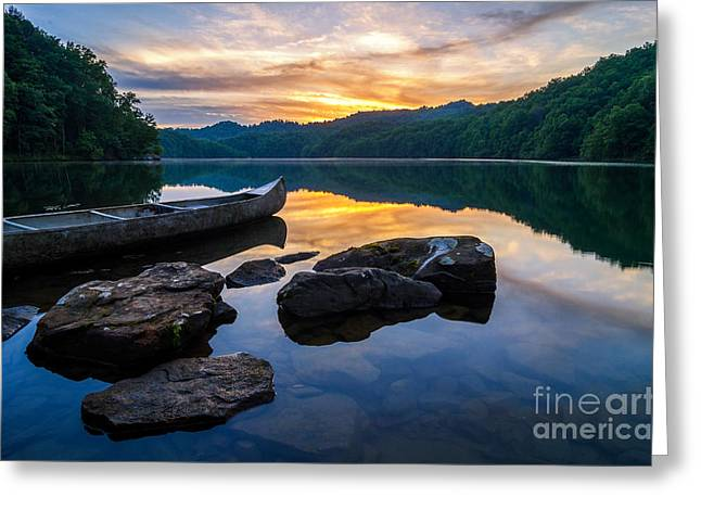 Crank Greeting Cards - Summer reflections Greeting Card by Anthony Heflin