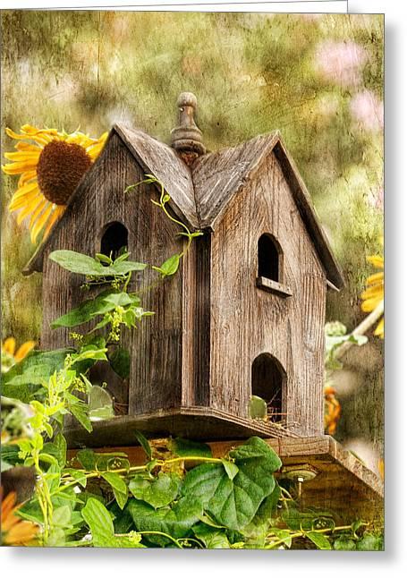 Joan Bertucci Greeting Cards - Summer Residence Greeting Card by Joan Bertucci