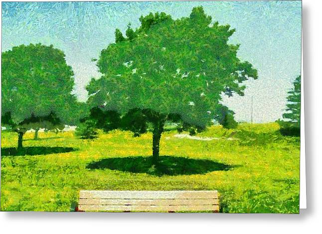 Sit-ins Greeting Cards - Summer Shade Greeting Card by Dan Sproul