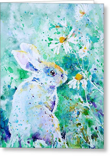 Easter Images Greeting Cards - Summer Smells Greeting Card by Zaira Dzhaubaeva