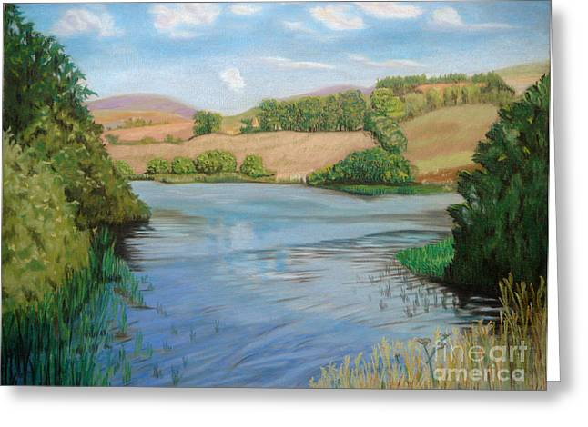 Reserve Pastels Greeting Cards - Summer Solitude Greeting Card by Yvonne Johnstone