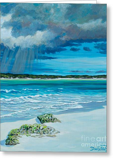 Danielle Perry Greeting Cards - Summer Storm Greeting Card by Danielle  Perry