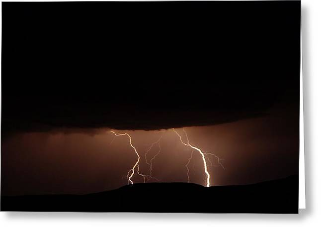 Summer Storm Photographs Greeting Cards - Summer Storm Greeting Card by Jeff  Swan