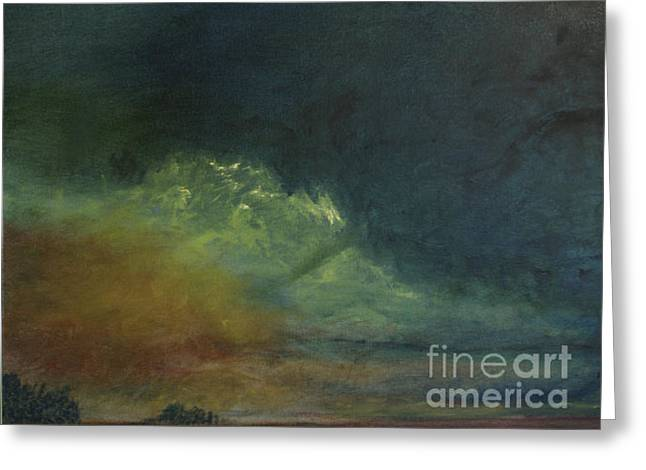 Summer Storm Greeting Card by Paul Galante