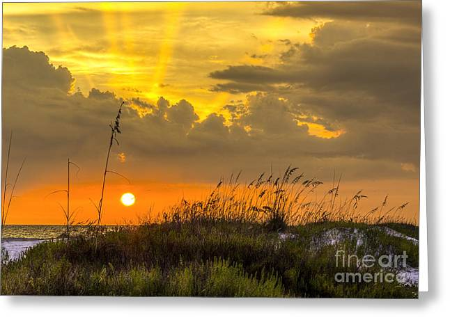 Thunder Cloud Greeting Cards - Summer Sun Greeting Card by Marvin Spates