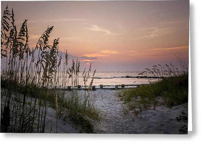 Steve Dupree Greeting Cards - Summer Sunrise Greeting Card by Steve DuPree