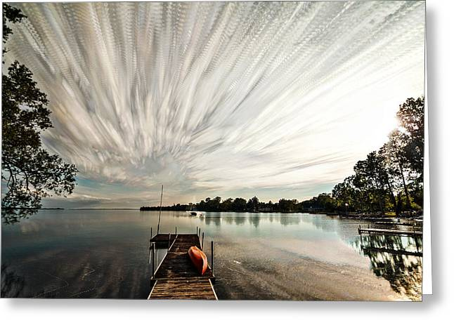 Summer Time... Lapse Greeting Card by Matt Molloy