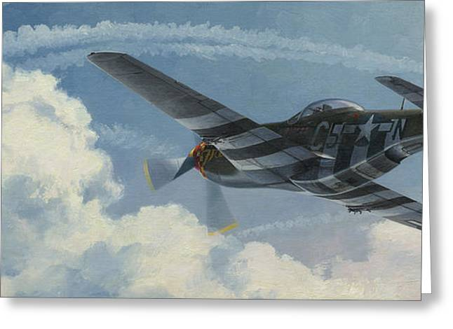 Fighters Greeting Cards - Summer of 44 Greeting Card by Wade Meyers