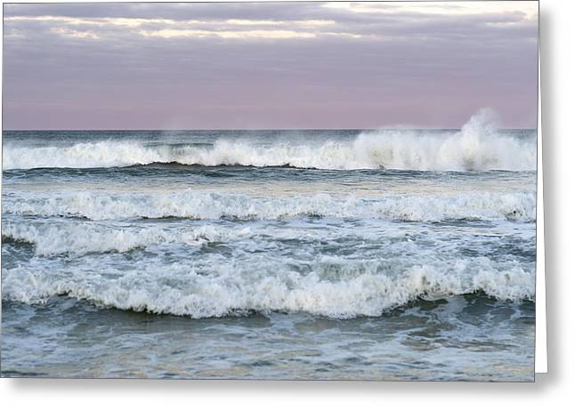 Seaside Height Greeting Cards - Summer Waves Seaside New Jersey Greeting Card by Terry DeLuco