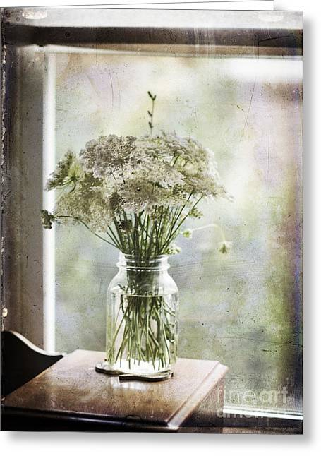 Window Of Life Greeting Cards - Summers Casual Grace Greeting Card by Terry Rowe