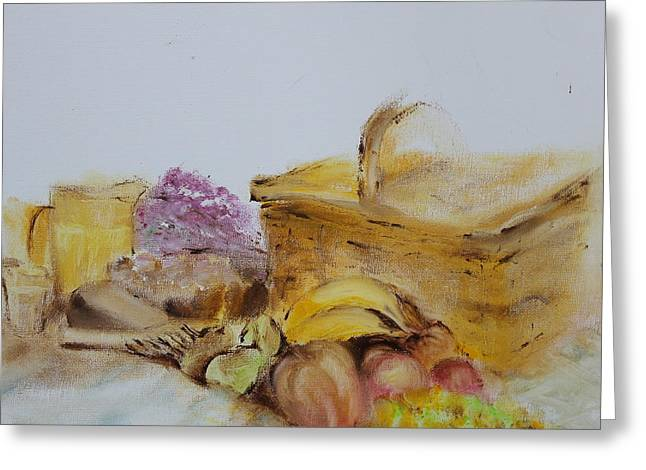 Hamper Greeting Cards - Summers Day Greeting Card by Genny Goodman