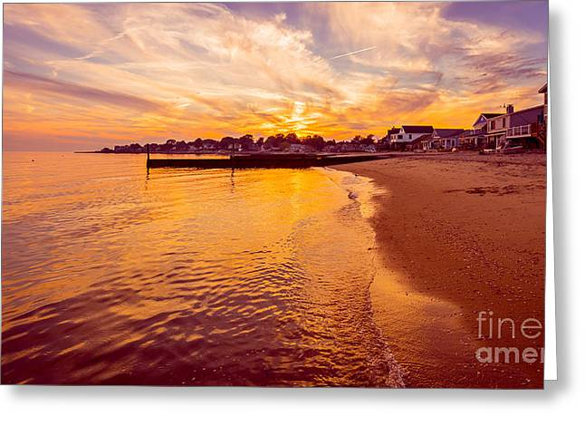 Saybrook Greeting Cards - Summers End Greeting Card by Edward Fielding