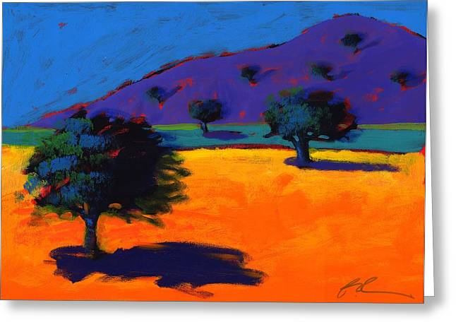 Summer Landscape Photographs Greeting Cards - Summertime, 2008 Acrylic On Board Greeting Card by Paul Powis