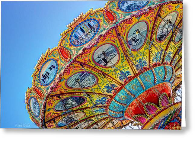 Santa Cruz Art Greeting Cards - Summertime Classic Greeting Card by Heidi Smith