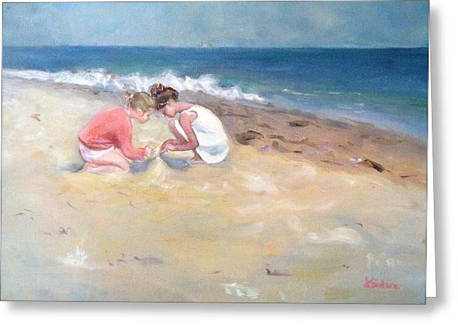 Summertime Greeting Card by Dorothy Siclare