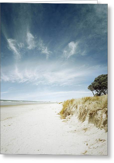 Beach Photographs Greeting Cards - Summertime Greeting Card by Les Cunliffe
