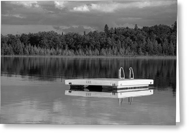 Summertime Greeting Cards - Summertime Reflections Greeting Card by Don Spenner