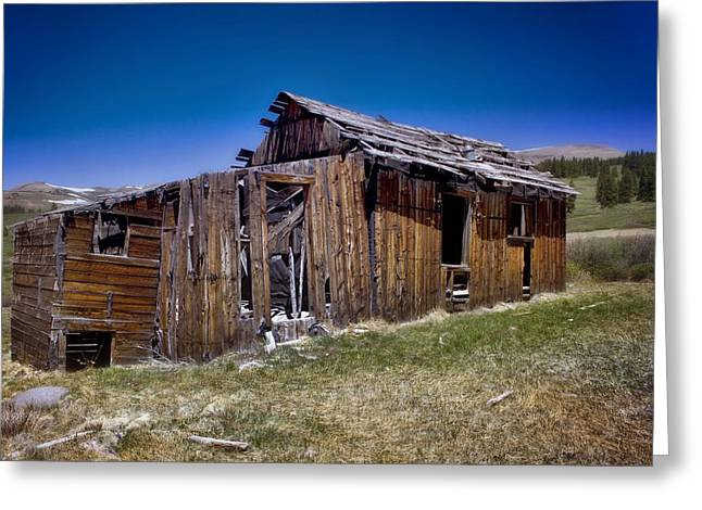 Old Mine Greeting Cards - Summitville - Colorado Ghost Town Greeting Card by Ellen Heaverlo