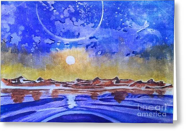 Sun Arising Greeting Card by Frank Williams