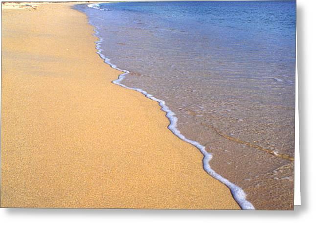Sun Bay Greeting Card by Thomas R Fletcher