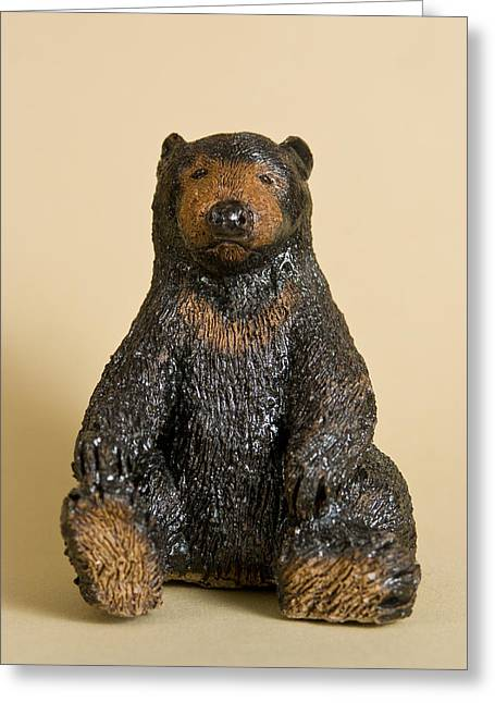 Moon Ceramics Greeting Cards - Sun Bear Greeting Card by Jeanette K