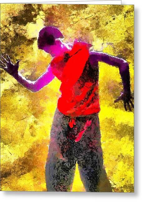Sun Dance Greeting Card by Gun Legler