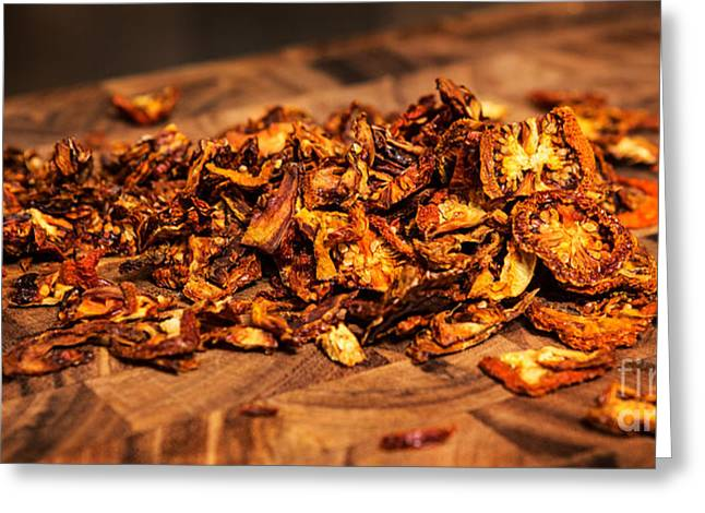 Commercial Photography Greeting Cards - Sun Dried Tomatoes Greeting Card by Iris Richardson