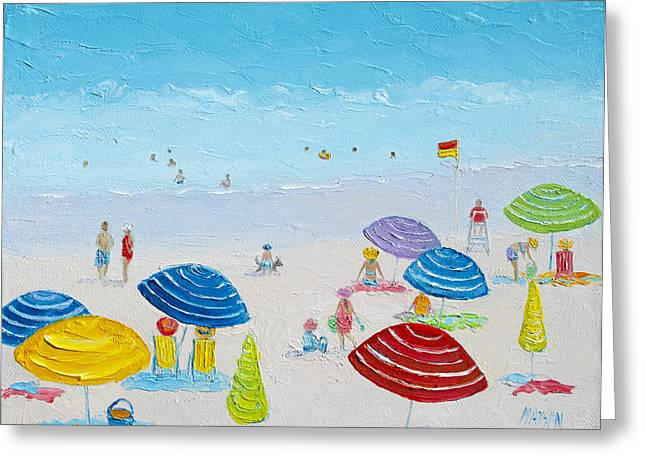 Beach Decor Posters Greeting Cards - Sun filled day Greeting Card by Jan Matson