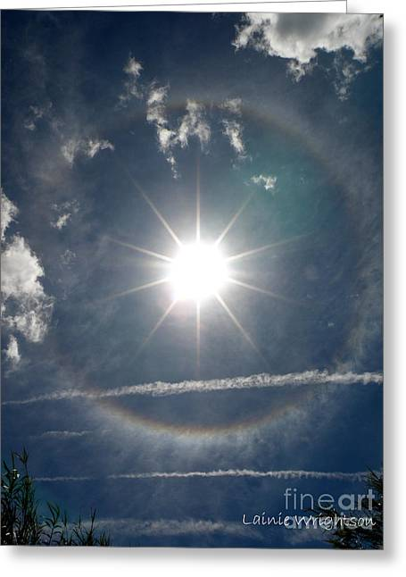 St.tropez Greeting Cards - Sun Halo Greeting Card by Lainie Wrightson