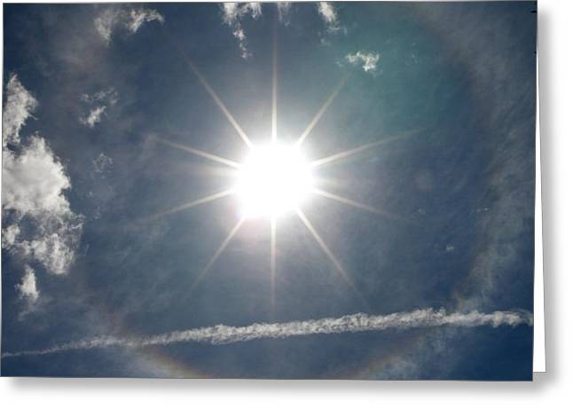 Sun Halo Greeting Card by Lainie Wrightson