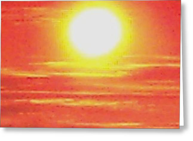Purchase Greeting Cards - Sun is Ball of Fire Greeting Card by Gail Matthews