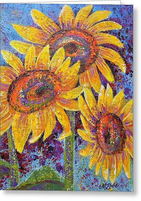 M Bobb Greeting Cards - Sun-kissed Beauties Greeting Card by Margaret Bobb