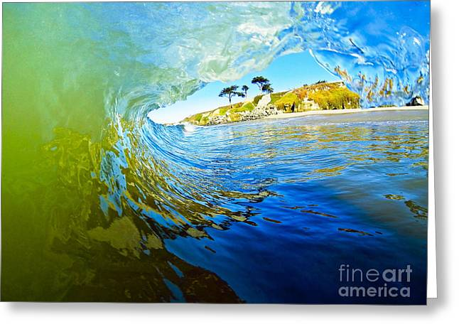 Santa Cruz Surfing Greeting Cards - Sun Shade Greeting Card by Paul Topp