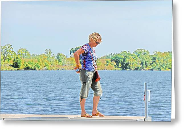 Verga Greeting Cards - Sun Song Greeting Card by Marilyn Miller