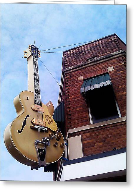Tennessee Landmark Greeting Cards - Sun Studio Entrance Greeting Card by Suzanne Barber