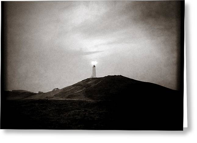 Dave Greeting Cards - Sun Tower Greeting Card by Dave Bowman