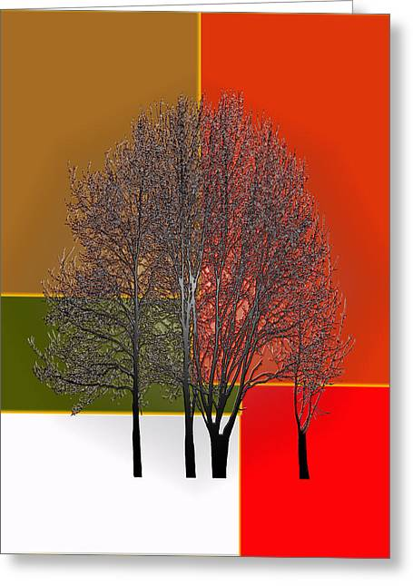 Owner Digital Greeting Cards - Sun Tree Greeting Card by Glenn Anderson