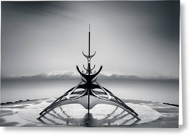 Progress Greeting Cards - Sun Voyager Greeting Card by Dave Bowman